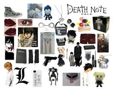 """""""Death note"""" by vitoria2012 ❤ liked on Polyvore featuring Scotch & Soda, Filippa K, Mystic Light, Misa, GE, Sephora Collection, Smith & Wesson, Lydia Courteille, Forum and women's clothing"""