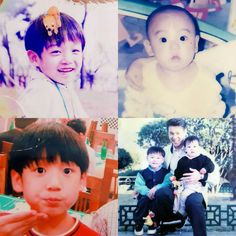Jungkook and his brother when they were younger~ ❤ #BTS #방탄소년단