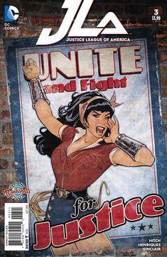DC Comics Bombshells #1, por Ant Lucia DC Comics continúa con su tradición del pasado 2014 de dedicar un tema específico a las portad...