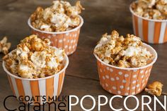 Fat Toad Farm Goat's Milk Caramel Popcorn Makes approximately 3 quarts of deliciously crunchy caramel popcorn Ingredients: 1/2 cup unpopped popcorn ½ (4oz) jar of Fat Toad Farm Goat's Milk Caramel …