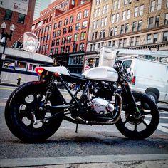 1980 KZ750 by MotoShedShop, Boston, Massachusetts