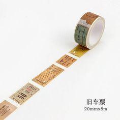 Landmark Points of Interest Planner Supplies Travel Gift Travel Journal Accessories Maste Paris Washi Masking Tape