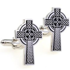 Celtic Cross Cufflinks by Cuff-Daddy Cuff-Daddy. $29.99. Made by Cuff-Daddy. Arrives in hard-sided, presentation box suitable for gifting.