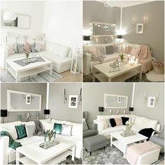 Tek bir oda farklı farklı dekorlar bambaşka ortamlar! @homebysevilay beyaz mobilyaları kendine oyun alanı oluşturuyor. Dekor mevsim çiçekleri aksesusuarlar tekstil ürünleri ve daha bir çok detay ile sürekli değişim geçiriyor. Güzel fikirler alabileceğiniz derleme evgezmesi.com'da! (Profilimizdeki linke tık) #evgezmesicom #evgezmesi Living Room Images, Interior Color Schemes, Colorful Interiors, Couch, Furniture, Home Decor, Instagram, Interiors, Settee