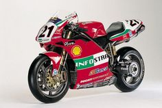 Ducati 996R  Never get tried of it.