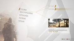 Design study of Assassin's Creed III as imagined by Lorenzo Carotenuto.