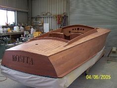 Rosita 24' Hacker designed built by Frecheville Heaney Boatbuilders