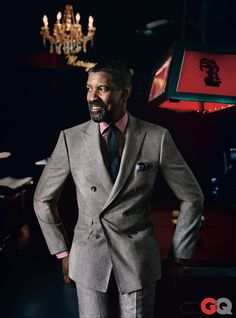 Denzel's style is off the chain