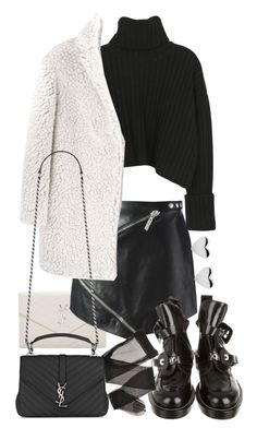"""Untitled #20635"" by florencia95 ❤ liked on Polyvore featuring Yves Saint Laurent, Kenzo and Balenciaga"