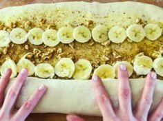 Tito úžasní skořicoví šneci s banánem Vám ukáží, že existuje gastronomické nebe!