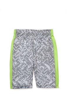 Zelos Printed Shorts Toddler Boys - Gray - 2T