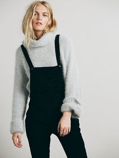 Free People Washed Corduroy Overall, $69.95