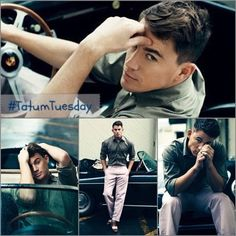 Great view for Channing Tatum Tursday!