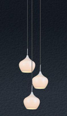 Lustra, Pendul modern diam.50cm, H-200cm Spirit MD2102A-3W Zuma Line, Corpuri de iluminat, lustre, aplice
