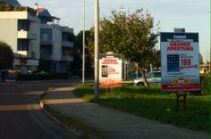 Affissione manifesti pubblicitari. Committente COMET (Nuova apertura Fano) Ottobre 2014  #sequanziali #poster #affissioni