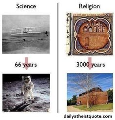 """:P Next time the topic of """"spirituality"""" comes up… :) Are you an """"angry atheist""""? – VIDEO Who says islam doesn't contribute to the world of science? Atheist Agnostic, Atheist Humor, Atheist Quotes, Science Vs Religion, Anti Religion, Athiest, Religious People, Dark Ages, Christianity"""