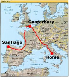 WanderingTheWorld.com: Search results for via francigena