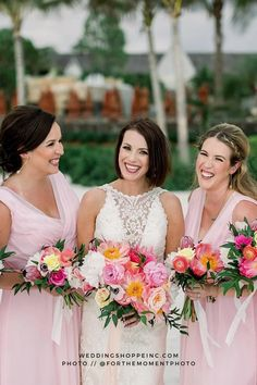 wedding planning tips, advice, and stories from brides and bridesmaids nationwide. Wedding planning resource: My Wedding Chat Blush Pink Bridesmaid Dresses, Blush Pink Wedding Dress, Blush Pink Weddings, Gorgeous Wedding Dress, Brides And Bridesmaids, Wedding Dress Styles, Dream Wedding Dresses, Perfect Wedding, Wedding Colors