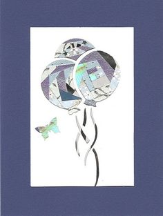 My Iris folding card