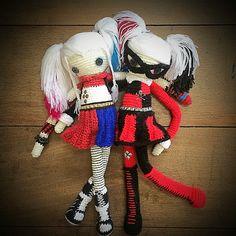 Bilderesultat for harley quinn diy doll