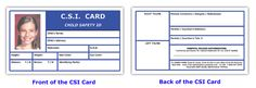 Free Kids ID Card Template | Our child safety id card for children!