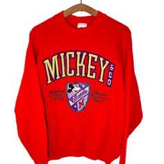 Vintage Disney Mickey Crewneck Sweatshirt