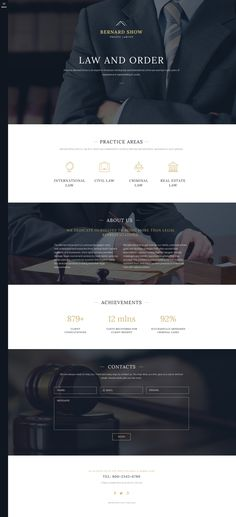Joomla Template , Lawyer