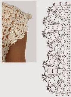 Crochet tablecloth Cream lace doily Crochet round doily Home decor doilies Handmade crochet tablecloth Filet Crochet, Col Crochet, Crochet Lace Edging, Crochet Diagram, Crochet Chart, Thread Crochet, Crochet Trim, Crochet Border Patterns, Crochet Skirt Pattern