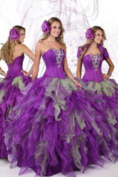Purple dress!