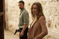 Melissa George and Adam Rayner in Hunted. On DVD and Blu-ray 26th November 2012.
