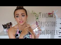 ▶ My TOP 5 Favorite Drugstore Highlighters! - YouTube