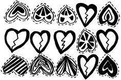 Heart Broken Heart Sketchbook by April V. Walters, 2014