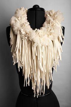 Rowan Mersh   Fabric Sculpture. Collezione conservata nel Victoria and Albert Museum.