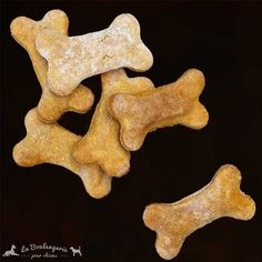 #Bisuits pour #chiens Os patates douces   Récompenses BIO pour chiens #lbpc