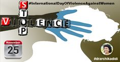 Women are the shadow of God(International day of violence against women)