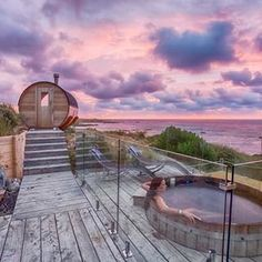 What does an ideal vacation look like? We think perhaps something like this. Relaxing in the hot tub at magical @kingislandescapes on a slice of paradise that is King Island, while savouring sunsets and ocean views away from any sort of trial of daily life. Thanks for sharing #tasmaniasnorthwest, King Island Escapes! Great capture @above_down_under 😄 . . #seeaustralia #discovertasmania #ourplanetdaily #tasmania #travelgram #instatravel #travel #beautifulplanet #tlpicks #travelogue… Kings Island, Space Place, Space Wedding, Ocean Views, Travelogue, Old West, Tasmania, Sunsets, Tub
