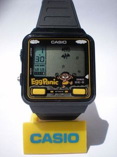 Visual Feed: Casio Game Watches   Acclaim