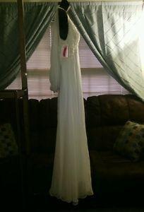 Demetrios llissa wedding formal dress gown size 10