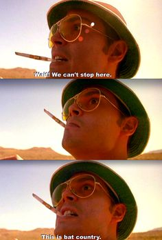 Fear and loathing.