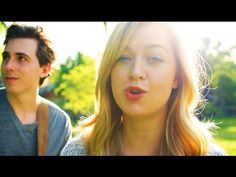 ▶ I WANT IT THAT WAY - BACKSTREET BOYS MUSIC VIDEO COVER (By Landon Austin and Julia Sheer) - YouTube