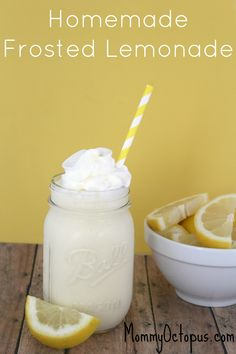 Frosted Lemonade - Just Like Chick-fil-A