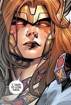 The long-lost sister of Thor and Loki. She served with the Guardians of the Galaxy and as a Huntress of Heven.