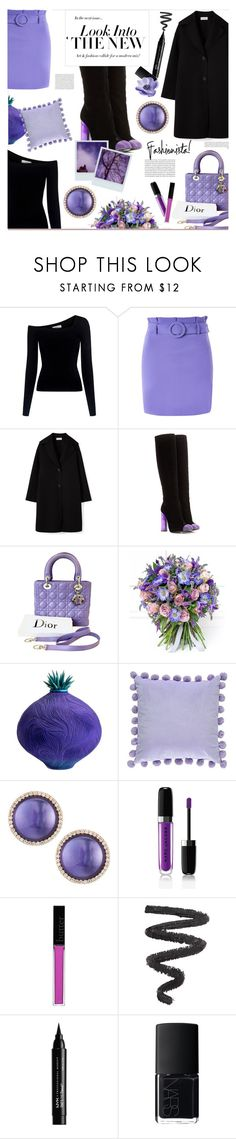 """loving purple"" by ztugceuslu ❤ liked on Polyvore featuring A.L.C., Topshop, Tom Ford, Polaroid, Lady D, Philippa Craddock, Forever 21, Roberto Coin, Marc Jacobs and Butter London"