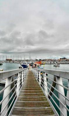 France Pays de la Loire Noirmoutier-en-lÎle Le quai des pêcheurs