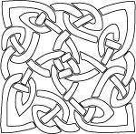 Celtic Knot from Clip Art & Crafts