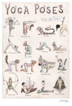 This detailed hand-illustrated yoga poster features sixteen characters demonstra&; This detailed hand-illustrated yoga poster features sixteen characters demonstra&; shabby 77 Yoga This detailed hand-illustrated yoga poster features sixteen […] poster Yin Yoga, Yoga Meditation, Yoga Flow, Meditation Corner, Yoga Mantras, Meditation Scripts, Yoga Fitness, Iyengar Yoga, Ashtanga Yoga