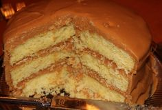 Southern Caramel Cake! Being the good southern girl that I am, I must make this. Well, Southern California. Valley Girl, actually! I'm still going to make this. :D