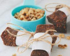 Mexican Chocolate Walnut Snack Bars Recipe