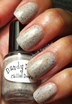 Valiantly Varnished: Dandy Nails Chilled Down