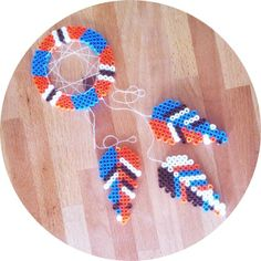 Dreamcatcher hama beads by architectoftaste